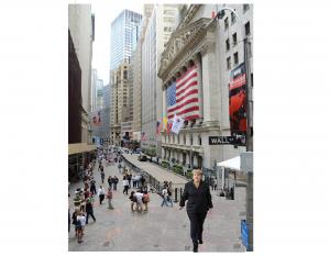 Merkel on Wall Street